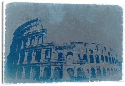 The Coliseum Canvas Art Print