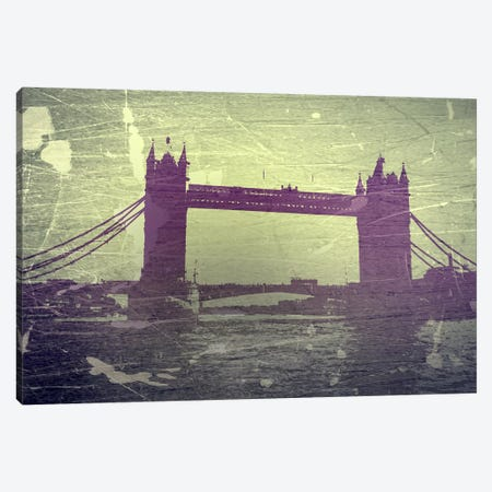Tower Bridge London Canvas Print #NAX763} by Naxart Canvas Art