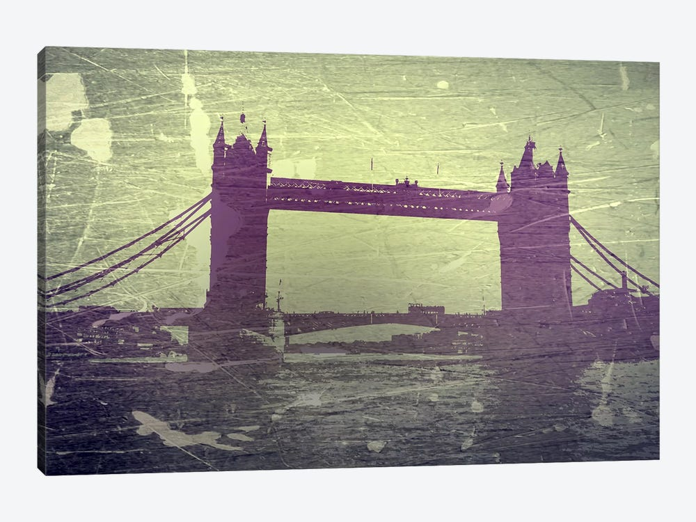 Tower Bridge London by Naxart 1-piece Canvas Art