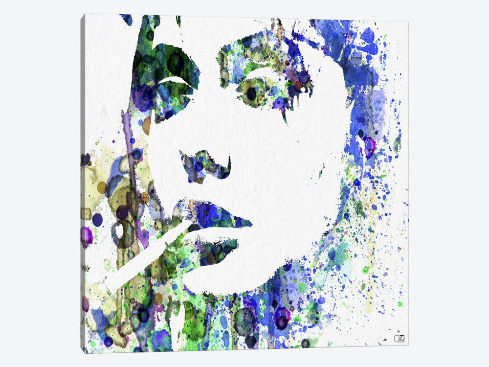 Angelina Jolie I by Naxart 1-piece Canvas Print