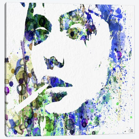 Angelina Jolie I Canvas Print #NAX77} by Naxart Canvas Print