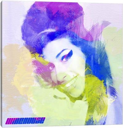 Amy Winehouse I Canvas Art Print