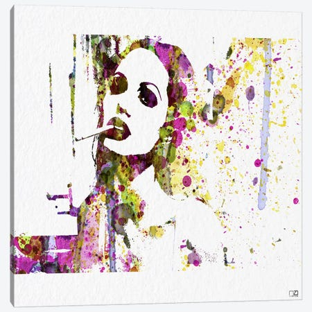 Angelina Jolie IV Canvas Print #NAX80} by Naxart Canvas Art Print