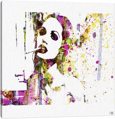 Angelina Jolie IV Canvas Print #NAX80