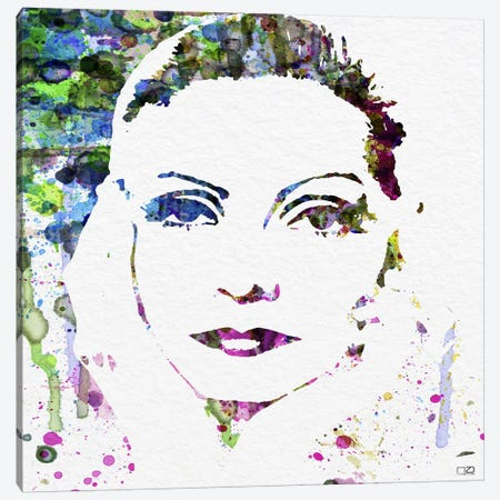 Greta Garbo Canvas Print #NAX82} by Naxart Art Print