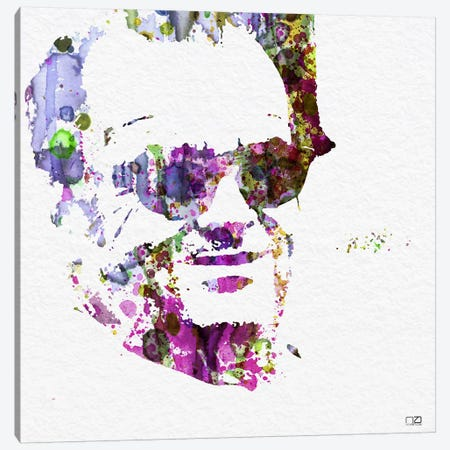 Jack Nicholson II Canvas Print #NAX83} by Naxart Canvas Print