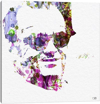 Jack Nicholson II Canvas Art Print
