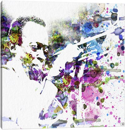 John Coltrane Canvas Print #NAX85