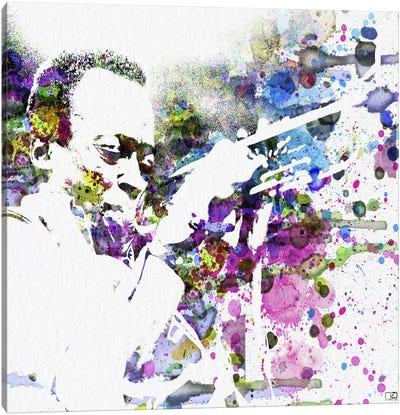 Miles Davis Canvas Art Print