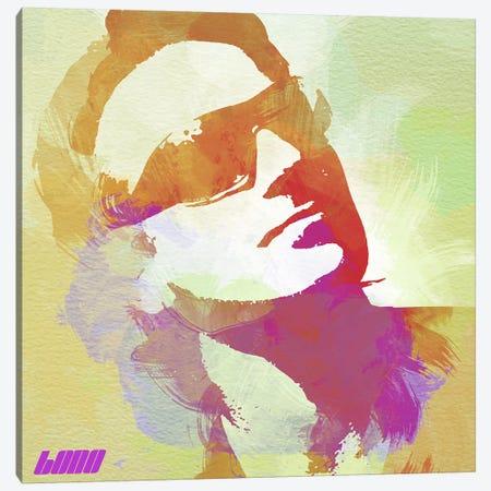 Bono Canvas Print #NAX9} by Naxart Canvas Art
