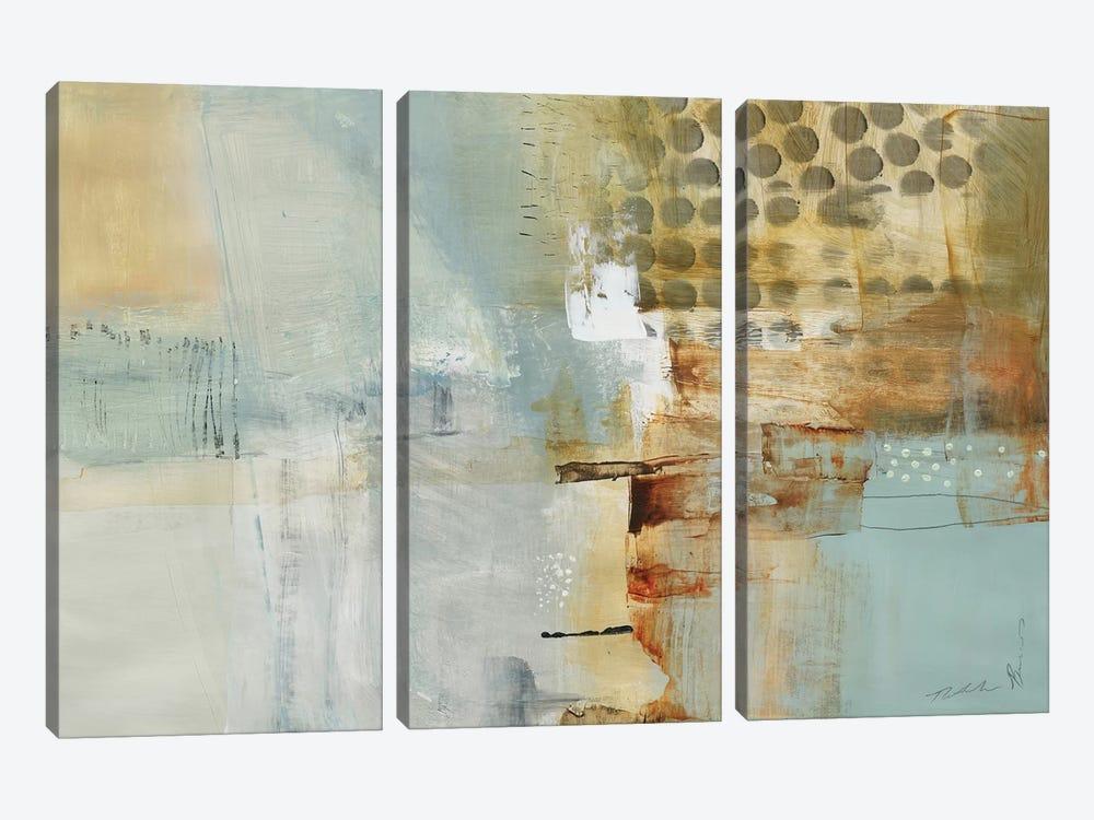 A Million Times Apart by Natasha Barnes 3-piece Canvas Wall Art