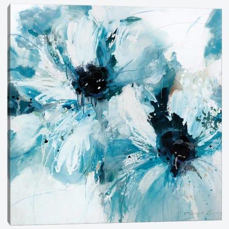 Blue Crush I Canvas Print #NBA14} by Natasha Barnes Canvas Artwork