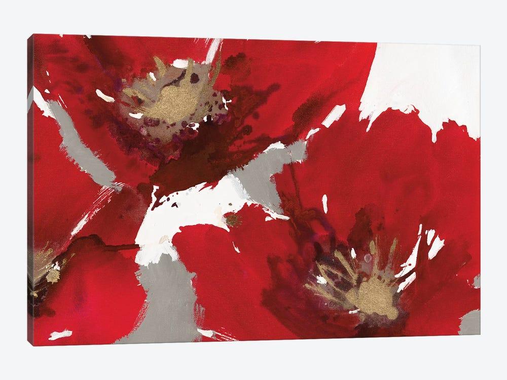 Red Poppy Forest II by Natasha Barnes 1-piece Canvas Artwork