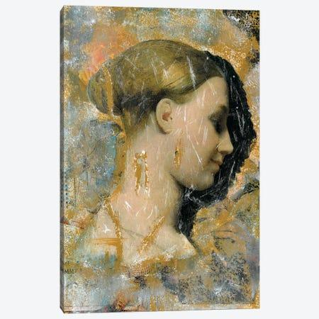 A Golden Girl Canvas Print #NBD10} by Nora Bland Canvas Artwork