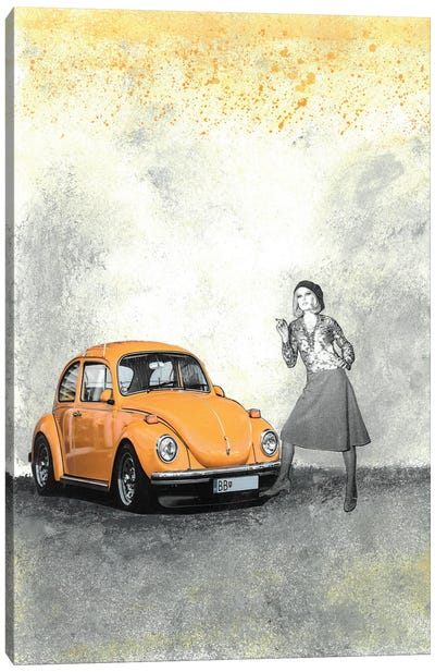 Just A Cigarette Break Canvas Art Print