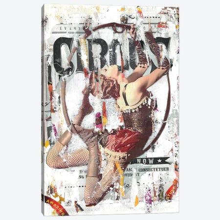 Circus Acrobat Canvas Print #NBD1} by Nora Bland Canvas Artwork