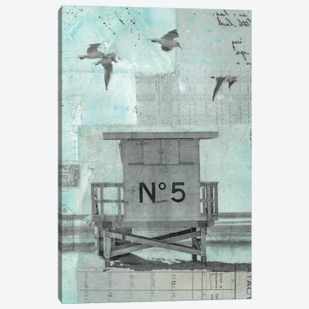 Cabin V Canvas Print #NBD32} by Nora Bland Canvas Artwork