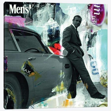 James Bond Sean Connery 007 Canvas Print #NBD8} by Nora Bland Canvas Art