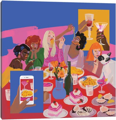 Meal Canvas Art Print