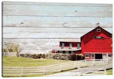 Farm Fence Canvas Art Print