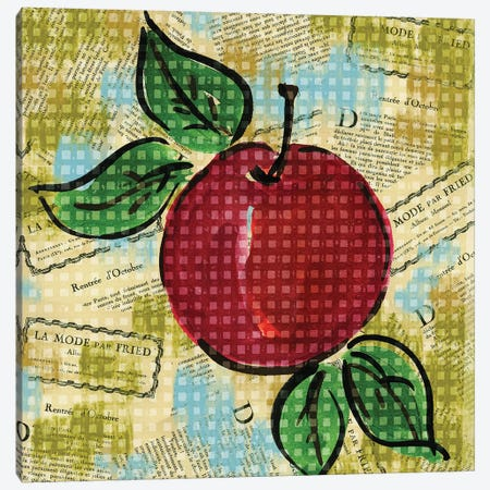 Fashion Fruit I Canvas Print #NBI14} by Nicholas Biscardi Canvas Art