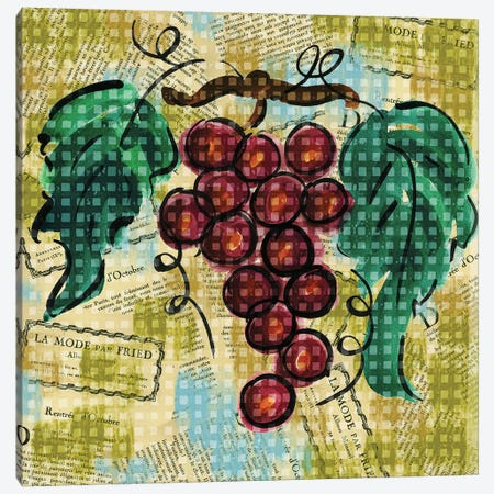 Fashion Fruit III Canvas Print #NBI16} by Nicholas Biscardi Canvas Art