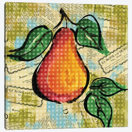 Fashion Fruit V Canvas Print #NBI17} by Nicholas Biscardi Canvas Wall Art