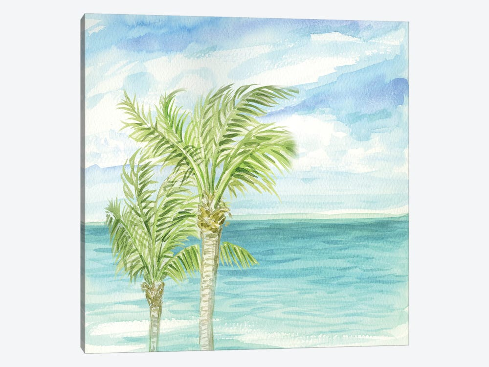 Refreshing Coastal Breeze I by Nicholas Biscardi 1-piece Canvas Art Print