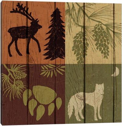 Lodge Four Pack II Canvas Art Print