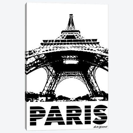 Modern Paris I Canvas Print #NBI28} by Nicholas Biscardi Canvas Wall Art
