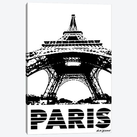 Modern Paris I Canvas Print #NBI28} by Nicholas Biscardi Canvas Wall Art