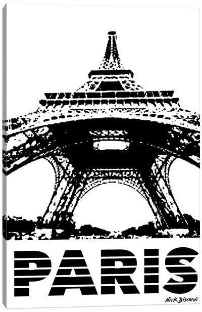 Modern Paris I Canvas Art Print