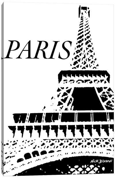 Modern Paris II Canvas Art Print