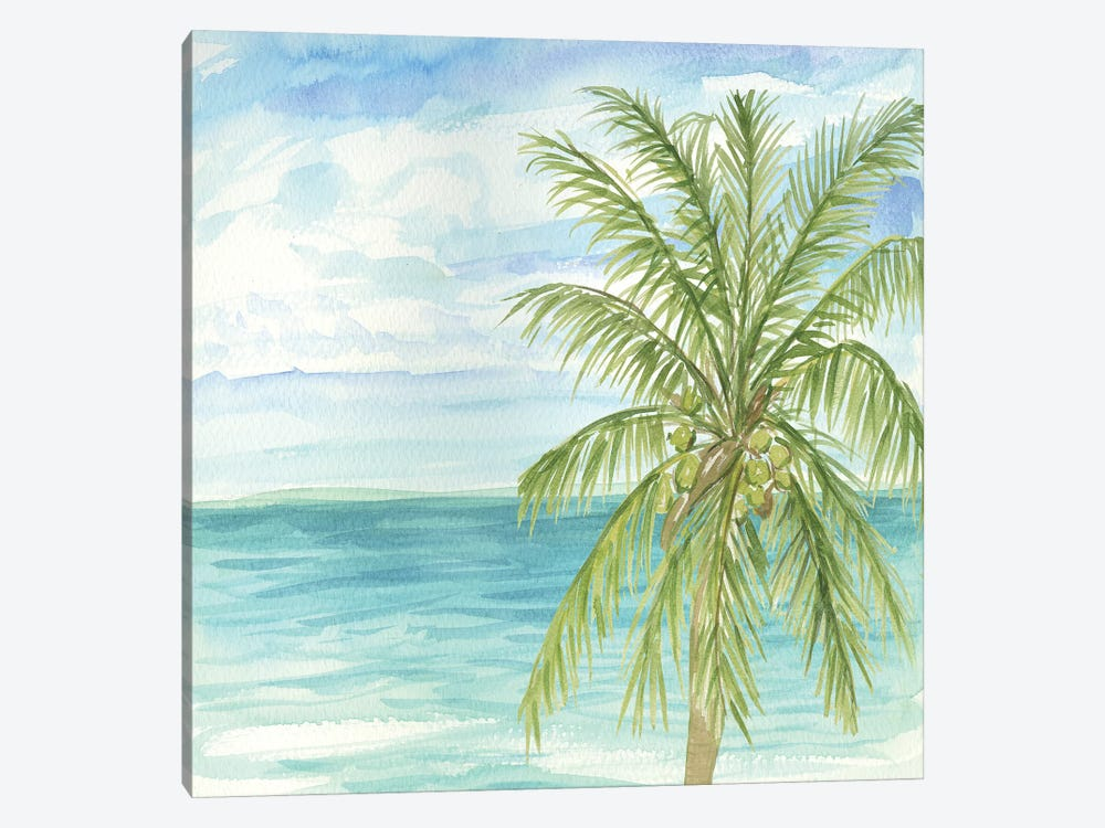 Refreshing Coastal Breeze II 1-piece Canvas Art