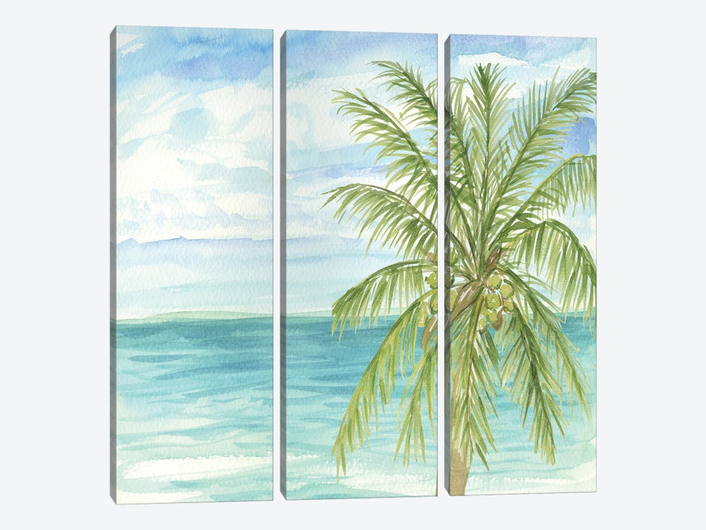 Refreshing Coastal Breeze II 3-piece Canvas Art