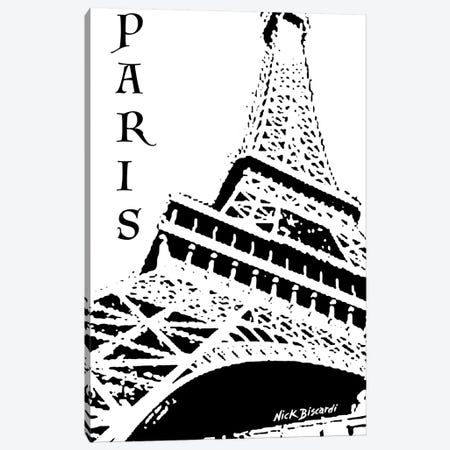 Modern Paris III Canvas Print #NBI30} by Nicholas Biscardi Canvas Print