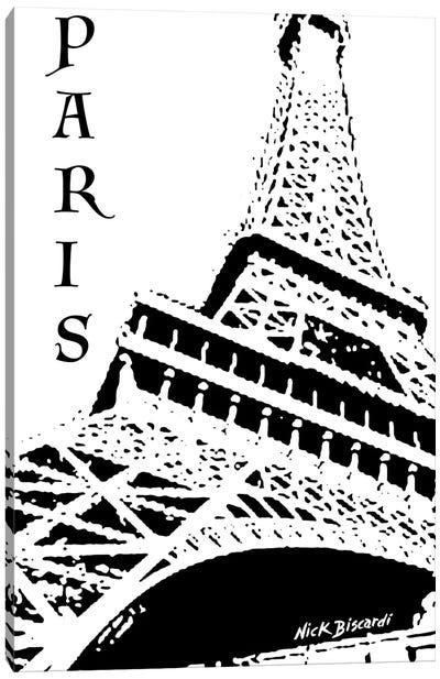 Modern Paris III Canvas Art Print