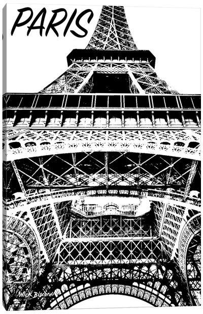 Modern Paris IV Canvas Art Print