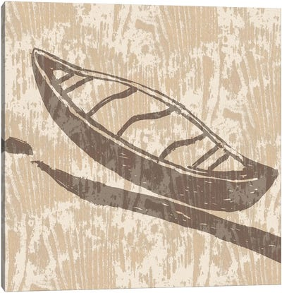 Spirit Lodge III Canvas Art Print
