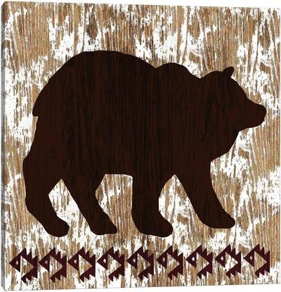 Wilderness Bear Canvas Art Print