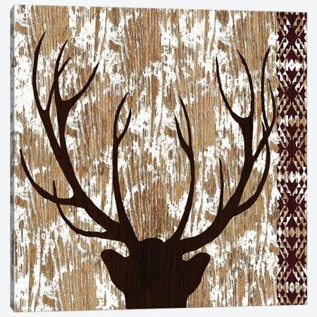 Wilderness Deer Canvas Print #NBI52} by Nicholas Biscardi Canvas Art Print