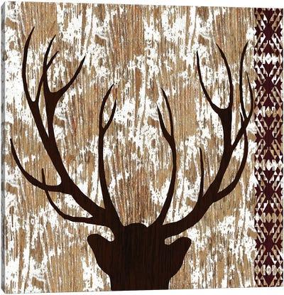 Wilderness Deer Canvas Art Print
