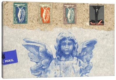Blue Angel Canvas Art Print