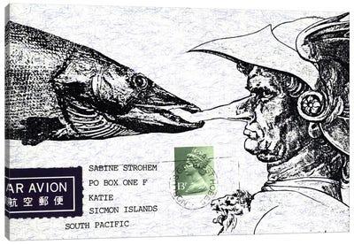 Fish Nose Canvas Art Print