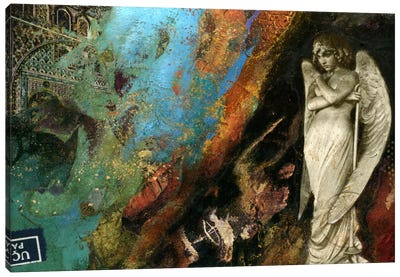 Green Angel Canvas Art Print