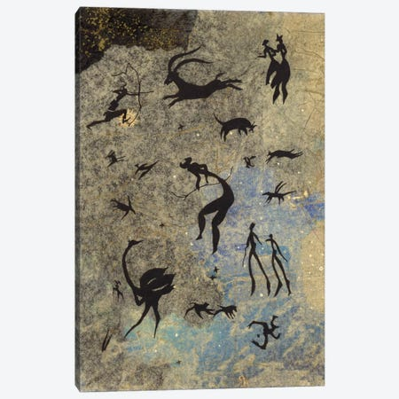 Handmade Petros Canvas Print #NBK24} by Nick Bantock Canvas Print