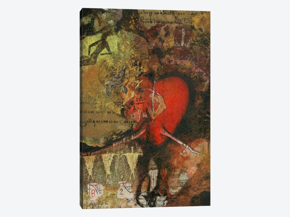 Heart by Nick Bantock 1-piece Art Print