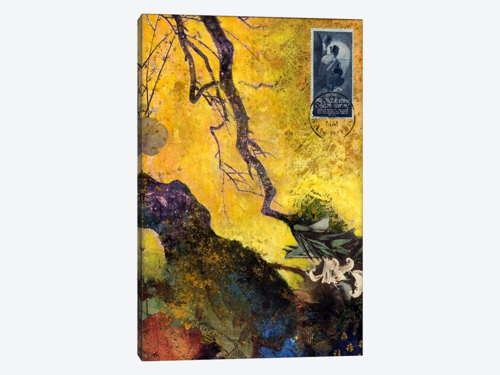 124 Golden Bough by Nick Bantock 1-piece Canvas Artwork