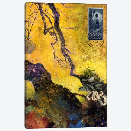 124 Golden Bough Canvas Print #NBK2} by Nick Bantock Canvas Art Print