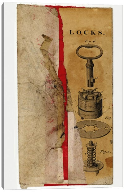 Locks Env Canvas Art Print
